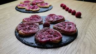 Raspberry Puff Pastry  A&ampA Homemade