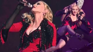 madonna performs living for love brit awards 2015