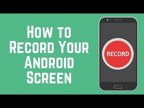 The Easiest Way to Screen Record on Android 2018 - YouTube