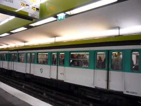 Paris: metro (Metropolitan -RATP), 2011