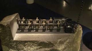 Maschine mit Granit