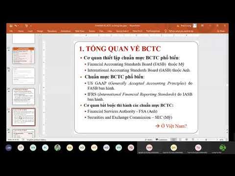 TCDN   CHƯƠNG 2: Các báo cáo tài chính và dòng tiền