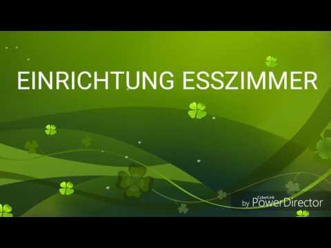 Einrichtung Esszimmer - YouTube