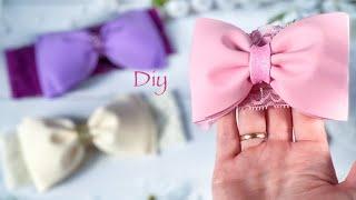Посмотрите как красиво получилось😍 Повязка с бантиком из фоамирана / Diy Cute Headband Bow Eva Foam