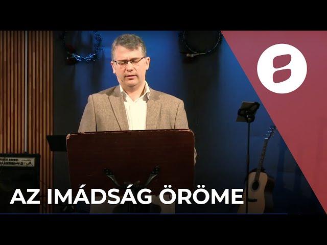 Az imádság öröme - Jóföldi Endre