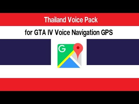 Review-----Thailand Voice Pack Sound SIRI for GTA IV Voice Navigation GPS