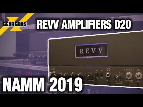 NAMM 2019 - REVV AMP'S NEW LUNCHBOX AMP, THE D20   GEAR GODS