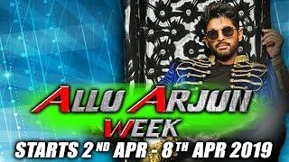 Stylish Star Allu Arjun's Birthday Week 2nd April – 8th April 2019
