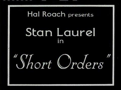 1923 - Short Orders (Rótulos en Castellano)