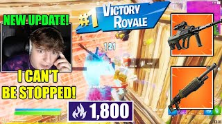 Clix GOES TRYHARD IN SOLO ARENA & WINS | Fortnite Season 7 NEW UPDATE |