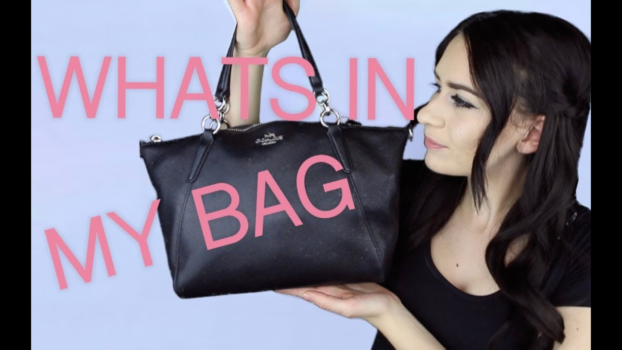 472962acfa67 WHAT S IN MY BAG!!! (Coach Kelsey Satchel) - YouTube