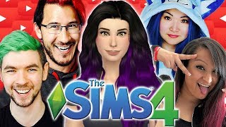 Gaming YouTuber Invasion!! | The Sims 4: YouTuber World