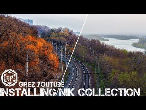 Установка плагинов Google Nik Collection бесплатно на Photoshop CC