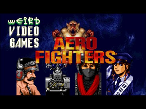 Weird Video Games - Aero Fighters (Arcade)