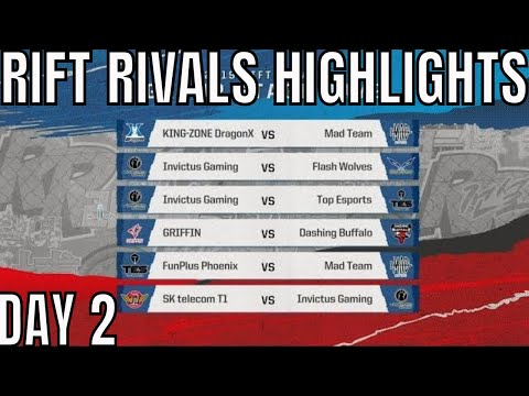 Rift Rivals HIGHLIGHTS ALL GAMES Day 2 LCK vs LPL vs LMS+VCS - (Includes SKT vs IG)