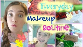 Everyday School Makeup Routine! 2014 Thumbnail