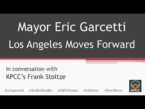 L.A. Mayor Eric Garcetti live at KPCC