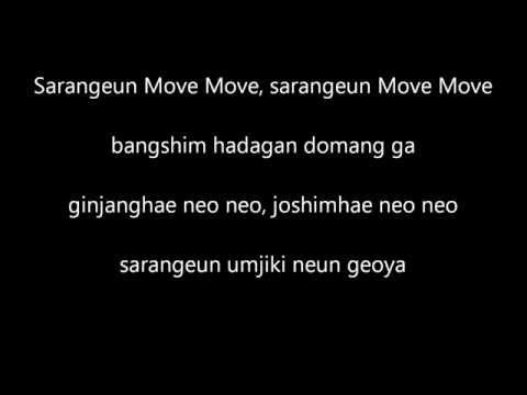 SECRET - Love is move (lyrics)