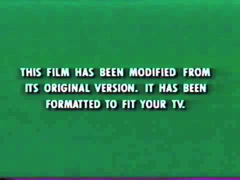 This Film Has Been Modified From Its Original Version It