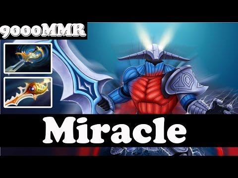Miracle- 9000 MMR Plays Sven - FULL GAME - Pub Match Gameplay - Dota 2