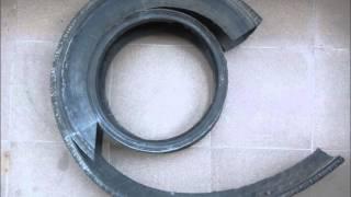 Мой талант - изготовление поделок из старых шин.(В моем видео показано как я изготавливаю кашпо в виде попугая. Кроме кашпо на одной из фотографий можно..., 2014-04-23T18:43:30.000Z)