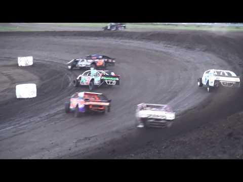 IMCA Sport Mod feature Benton County Speedway 8/13/17