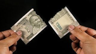 Magic Tricks with Currency Notes | Magic Tricks Revealed