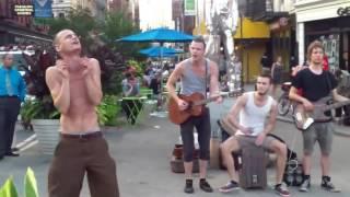 Street band Performance