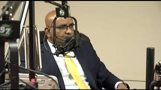 """Opposition Leader Dr Bharrat Jagdeo's interview on 97.5 FM's """"Is Wha De Show Name"""""""