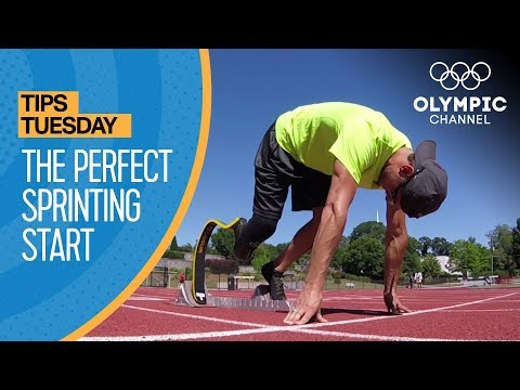 How To Have a Perfect Start in Sprinting ft. Jarryd Wallace   Olympians