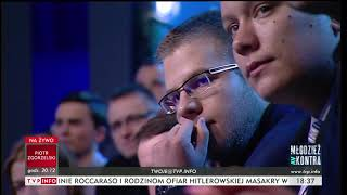 Młodzież kontra 616:  Katarzyna Lubnauer (NowoczesnaPL) 04.11.2017