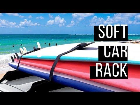 Hemp Surfboard Soft Car Rack