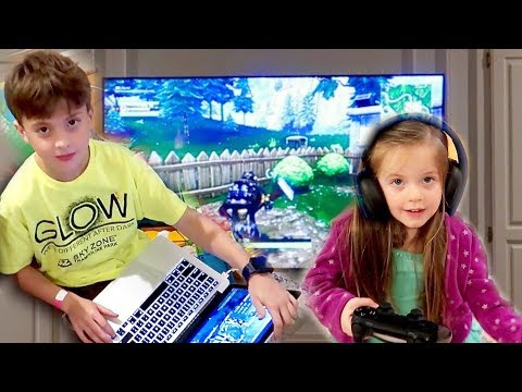 TOO YOUNG TO PLAY FORTNITE?