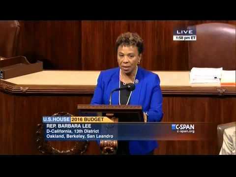 Rep. Lee Speaks In Support of the Progressive Caucus