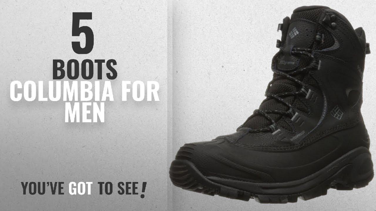 db12a9d899f Top 10 Boots Columbia [ Winter 2018 ]: Columbia Men's Bugaboot Ii Snow  Boot, Black, Charcoal, 13 D