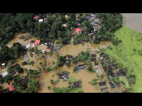 Operações de resgate em Kerala facilitadas pela melhoria do tempo
