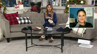 CLOUDSTEPPERS by Clarks Women's or Men's Knit Slippers on QVC