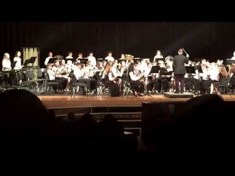 """Strayer Middle School 7th grade band """"Wizard of Oz"""" 5.8.15"""