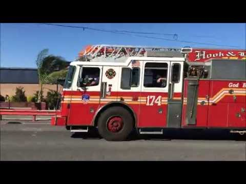 FDNY RESPONDING & CONCLUDING OPERATIONS AT AFTERMATH OF 7TH ALARM BRUSH FIRE, GERRITSEN BEACH.
