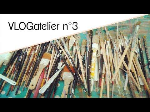VLOGatelier N°3 - Stage D'arts Plastiques