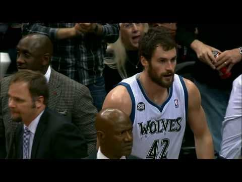 Kevin Love Leads the Timberwolves in Domination of the Nets