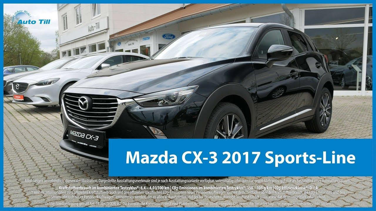 mazda cx 3 2017 sports line design highlights 4k uhd. Black Bedroom Furniture Sets. Home Design Ideas