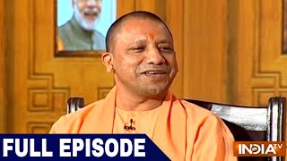 UP CM Yogi Adityanath in Aap Ki Adalat (2018) | Samvaad on 1 Year of Uttar Pradesh Govt