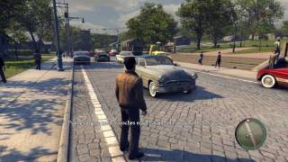 [HD] Mafia 2  - Demo GAMEPLAY MAX SETTINGS ATI HD5970