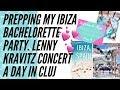 VLOG 24: Prepping my Ibiza Bachelorette, Office Days & the Lenny Kravitz Concert in Cluj