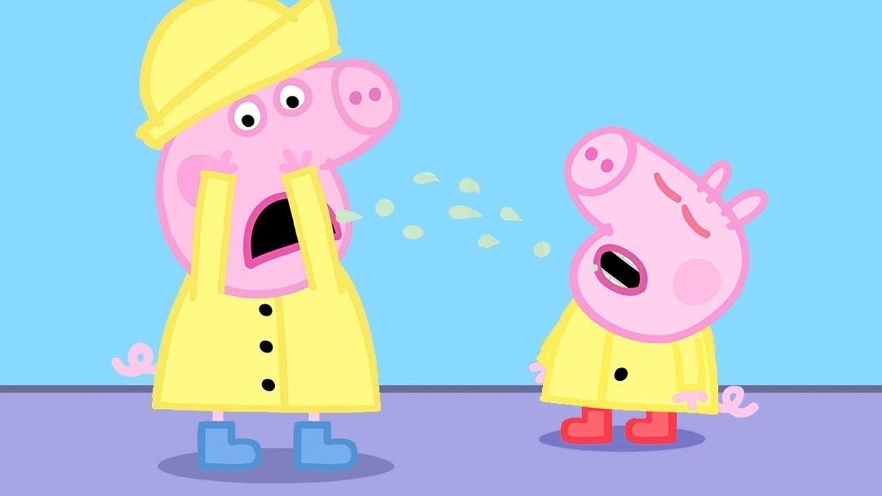 Peppa Pig Français | George Attrape Un Rhume | Épisodes Complets | Dessin Animé Pour Bébé