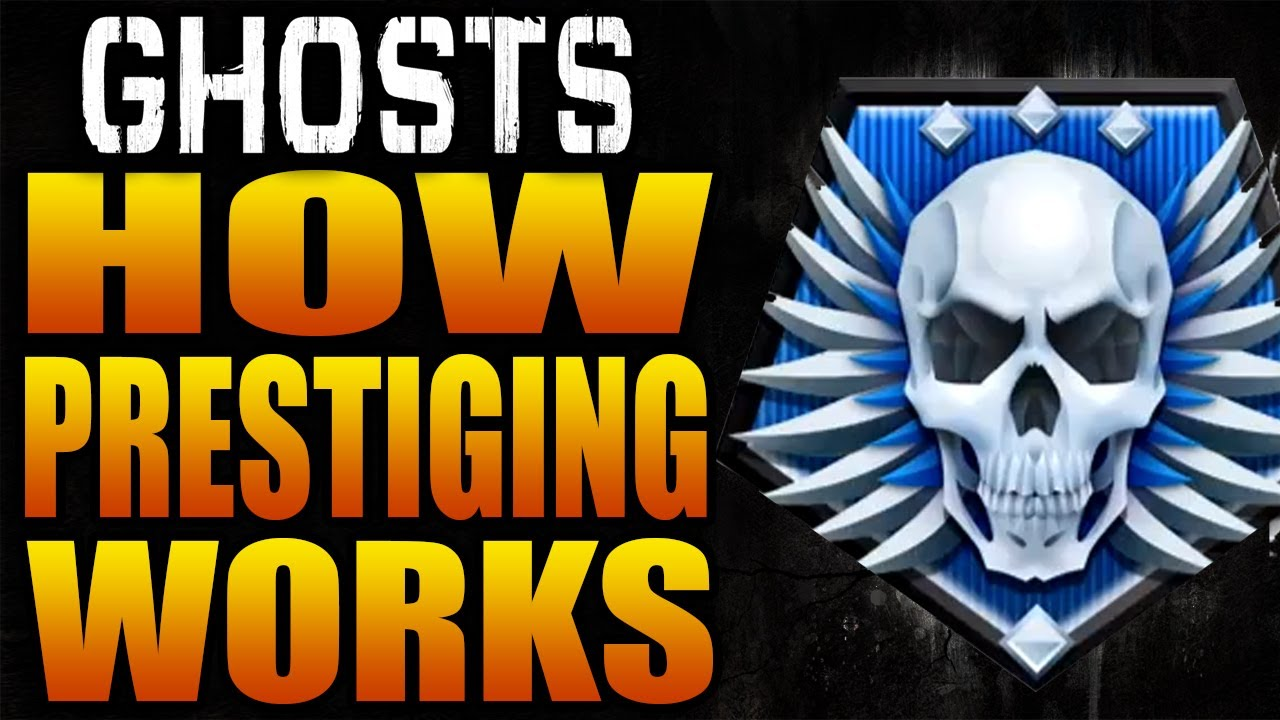 How Prestiging Works In Call Of Duty Ghosts Ghost Prestige Level