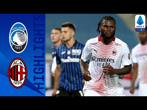 Atalanta 0-2 Milan   Milan finish the season in the second place!   Serie A TIM