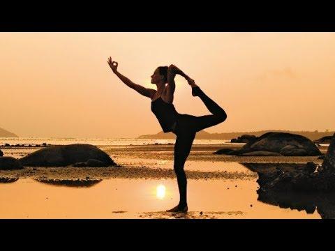 surya namaskar soundscape ☼ yoga practice music 2019