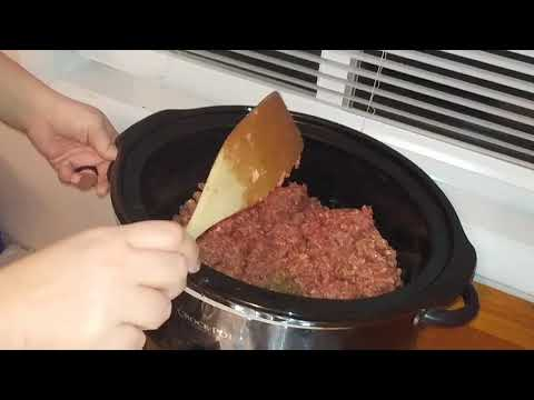 Browning Ground Beef In The Crockpot